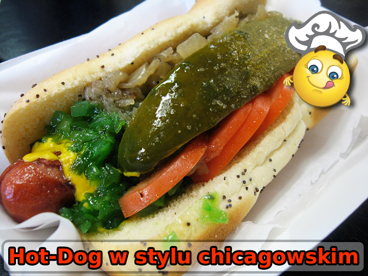 Chicago-style Hot-Dog