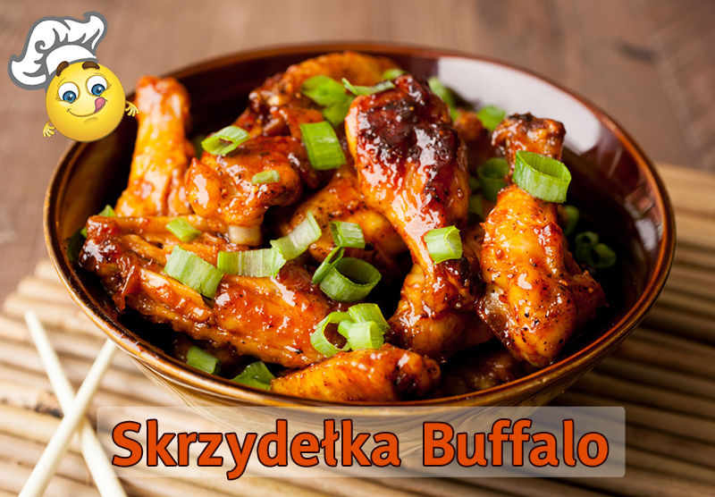Pikantne skrzydełka Buffalo