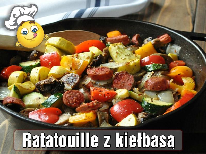 Ratatouille z kiełbasą