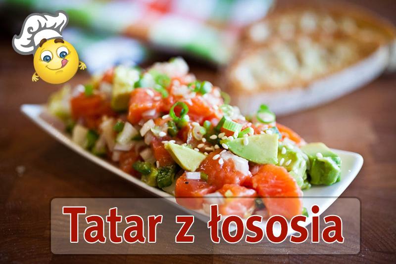 Tatar z łososia