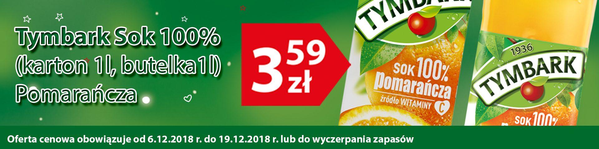 6-19.12.2018 tymbark 100% pomarańcza